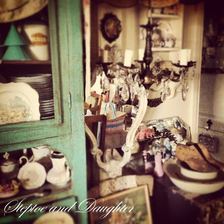 Shabby, vintage corner of our home