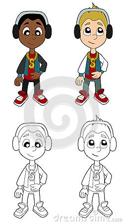 Download Hip Hop Boys Cartoon Royalty Free Stock Image for free or as low as 4.22 Kč. New users enjoy 60% OFF. 20,076,916 high-resolution stock photos and vector illustrations. Image: 35446166