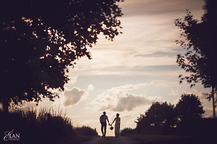 Stone-Barn-Wedding-Gloucestershire-sunset
