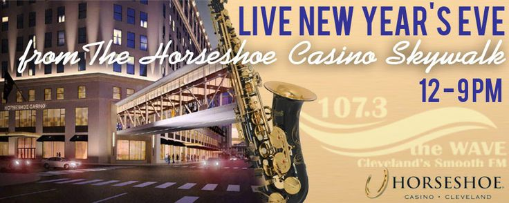 Join us tomorrow from Noon until 9PM at the #Skywalk opening @Horseshoe Cleveland !  Take a selfie Waving with #theWave with 1 of the boys & have a chance to win! #CLE #NYE #2014 #Cleveland #casino