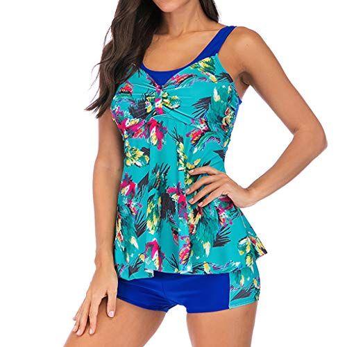 Liraly Women Plus Size Printed Swimjupmsuit Bikini Swimsuit Swimwear Tankini, #A... 15