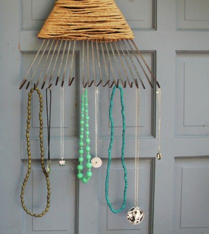 Rake and get organized