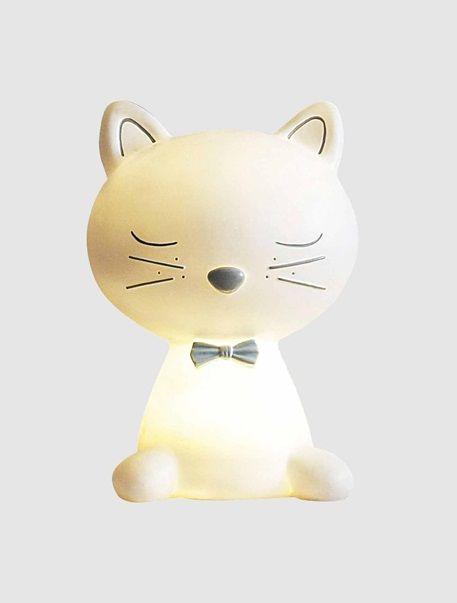 Nachtlicht in Katzenform WEIß