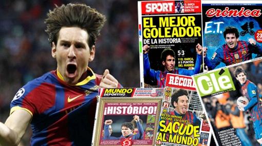 Los 90 Goles de Lionel Messi – Record Mundial