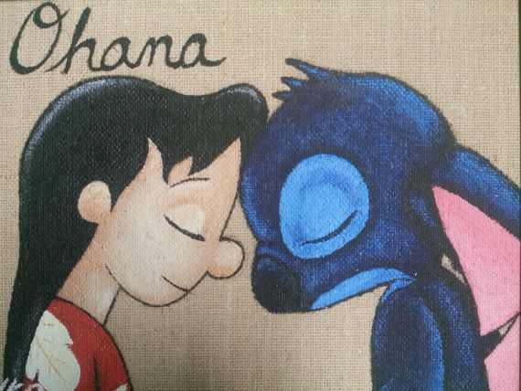 Check out this item in my Etsy shop https://www.etsy.com/listing/274377176/disney-inspired-lilo-and-stitch-canvas