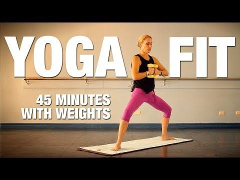 Yoga Fit with Weights (45 Min) Yoga Class - Five Parks Yoga