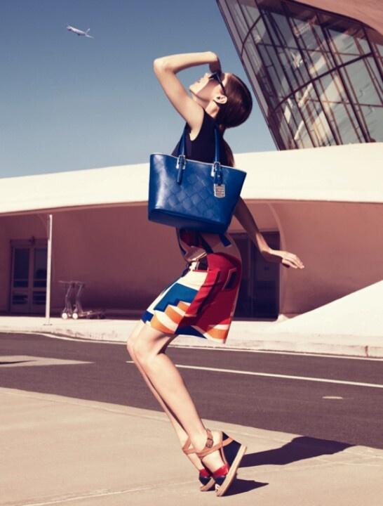 I <3 Coco Rocha for Longchamp