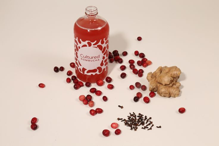 Cranberry Ginger Kombucha with a subtle hint of cloves. Drink on its' own or makes fantastic cocktails.