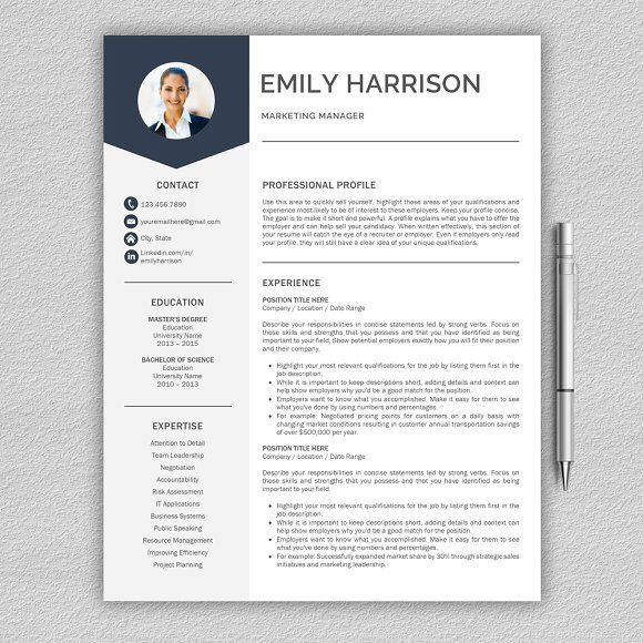 8 best Resume templates in Word images on Pinterest Resume - absolutely free resume templates