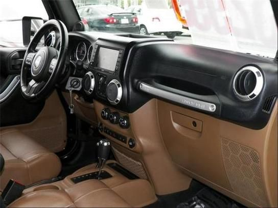 Jeep Rubicon Brown Leather Interior | Rubicon | Jeep ...