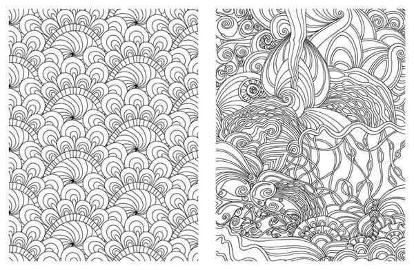 Coloring pages of random designs ~ 11 best Mandala ..تلوين للكبار images on Pinterest ...