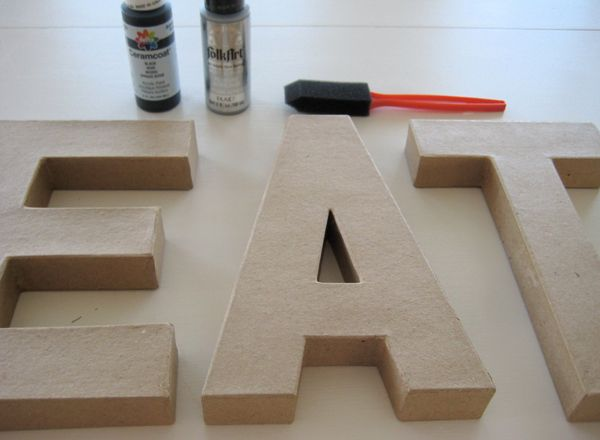 Sugar and Charm: zinc inspired letters