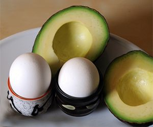 Eggs are a great source of protein for gastric sleeve, gastric bypass, and lap band patients. A large egg has only 80 calories, but has 6 grams of high quality protein. Eggs are easily digestible and can be enjoyed for breakfast, lunch, or dinner.  #egg #nutrition #avocado #weightloss #BocaRaton #gastricsleeve