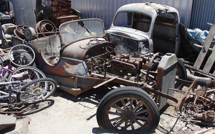 134 Best Junk Yards And Rusty Stuff Images On Pinterest