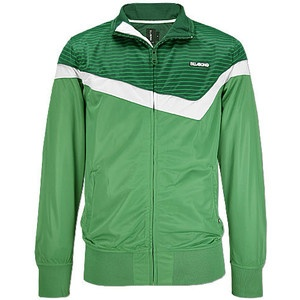 recently discovered a love for track jackets, the perfect accompaniment to a girlie pretty dress (even better if the jackets 'borrowed long term'...)