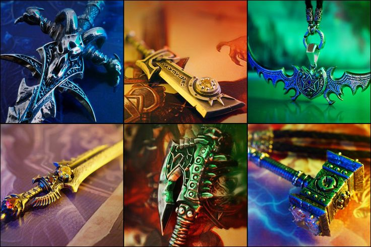 """Weapons of heroes WOW"""" от JewelCraft"""