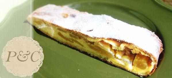 Strudel di Crema alla Vaniglia e mele Golden