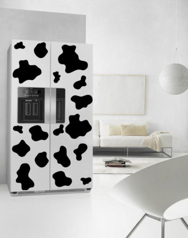 Cow Patches   Fridge Kitchen Wall Sticker Part 75