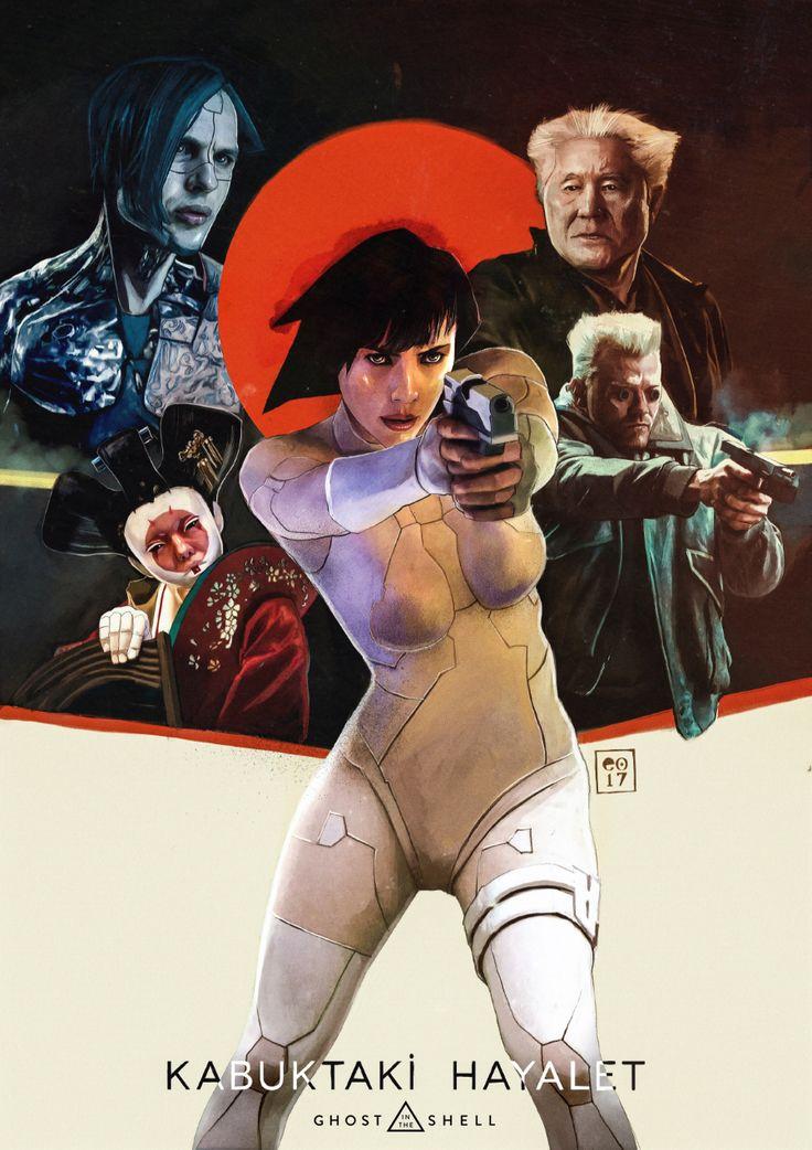 Ghost in the Shell // Kabuktaki Hayalet - Poster on Behance