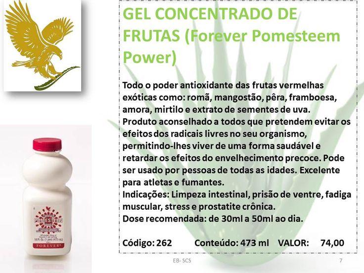 GEL CONCENTRADO DE FRUTAS (Forever Pomesteem Power)