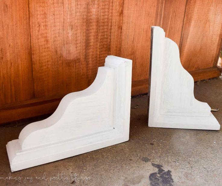 DIY Farmhouse Shelves for the Dining Room.  So easy to make your own fixer upper inspired shelves using reclaimed wood