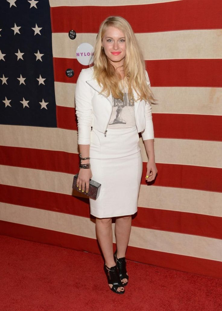 Leven Rambin goes rock chic for the Nylon November 2013 Celebration