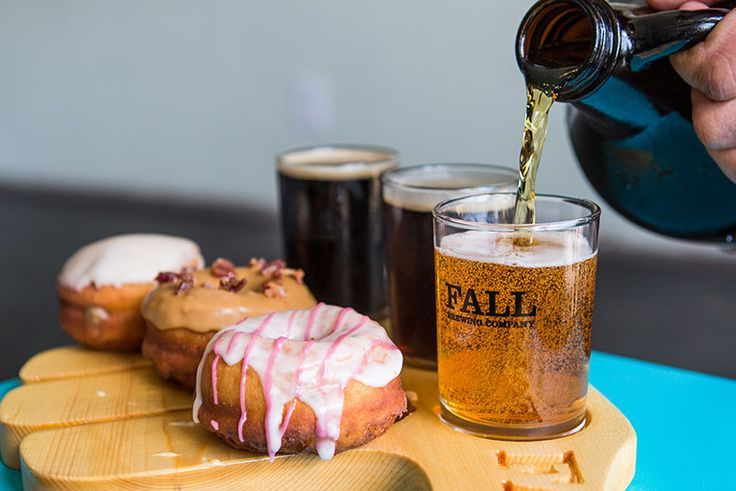 Donut and Beer Pairing, Nomad Donuts.