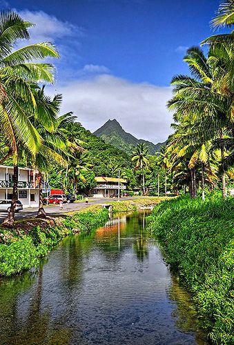 Te Manga, Rarotonga, Cook Islands