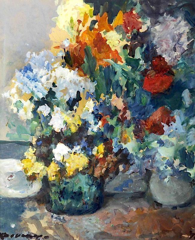 Kees Verwey (1900-1995) A colourful bouquet