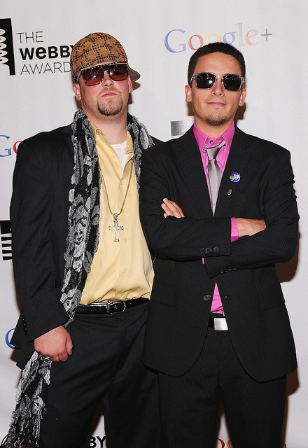 Scumbag Steve and Nyan Cat creator Chris Torres on the Webby Red Carpet by The Webby Awards, via Flickr