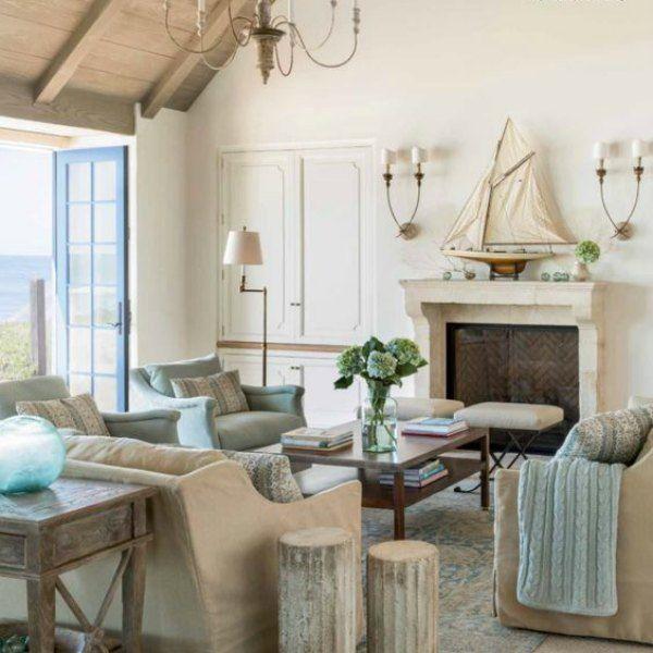 Casual Coastal Living Room Ideas: 3407 Best Coastal Casual: Living Rooms Images On Pinterest