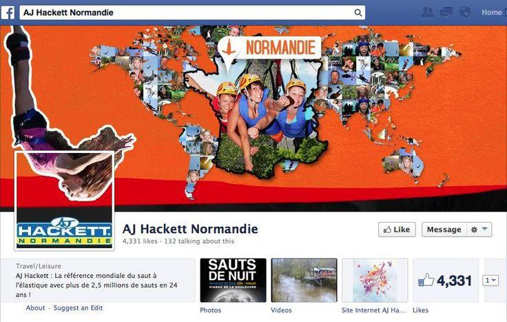 AJ Hackett International social media - Facebook