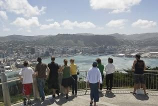 Mount Victoria in #Wellington. 360-degree views of the city. Great for taking photos!