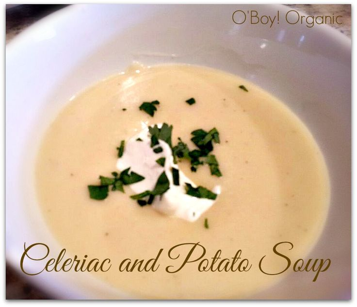 Celeriac and Potato Soup is one of the healthiest soups you can make with tons of health benefits, especially for cancer patients.