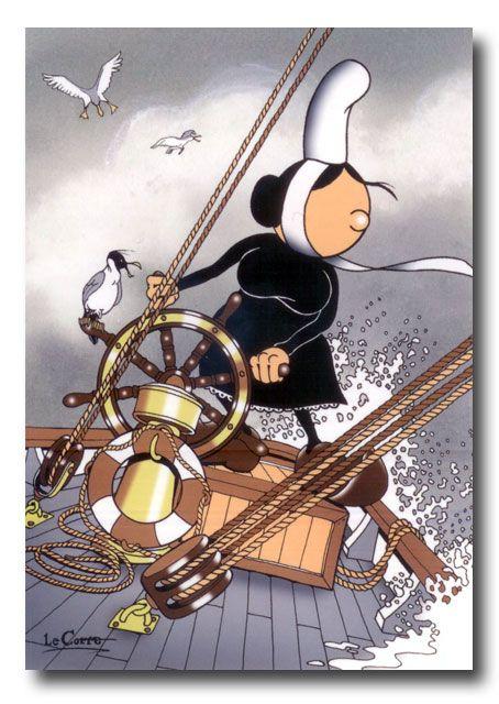 La Bretagne vue par Nikolaz Le Corre, créateur de Mam Goz.    Les moyens de transport de Mam Goz    Les loisirs de Mam Goz    L'humour de Mam Goz  Nikolaz Le Corre est à la base de la conception de plusieurs ...
