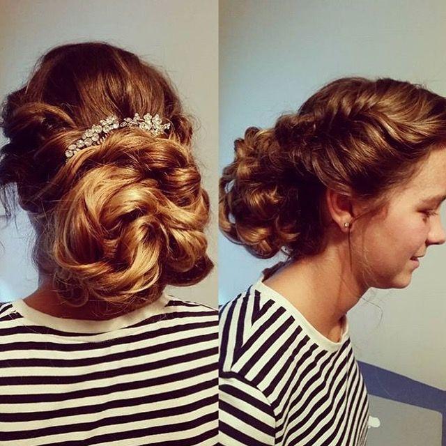 Beautiful up style by Zoe