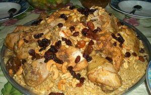 Kasba di riso e pollo