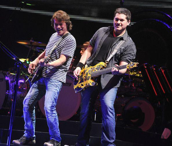 Eddie and Wolfgang Van Halen :)