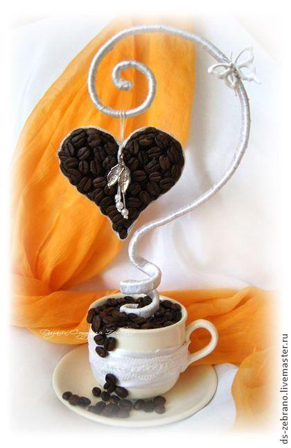 Топиарии ручной работы. Ярмарка Мастеров - ручная работа Кофейное дерево любви. Топиарий.. Handmade.
