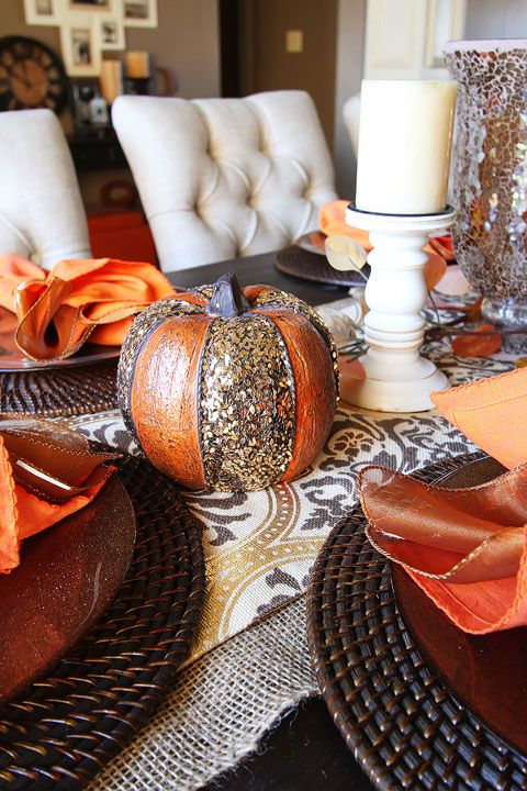 25+ best ideas about Fall Dining Table on Pinterest  Fall table decor diy, Fall table