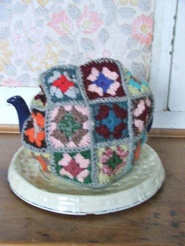 Vintage Crochet Tea Cosy