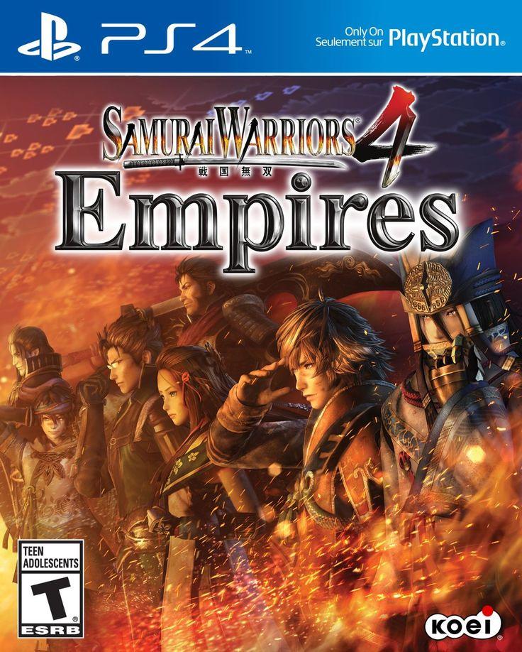 Samurai Warriors 4 Empires Game Cover