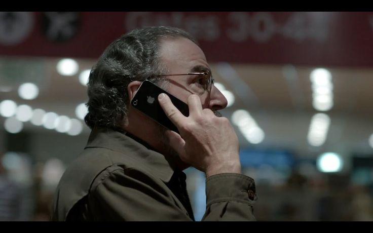 Black Apple iPhone 4/4S - Homeland TV Show Scene