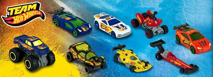 Hot Wheels Happy Meal Toys