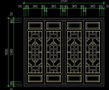 Chinese window lattice autocad drawings cad blocks and 2d design free download