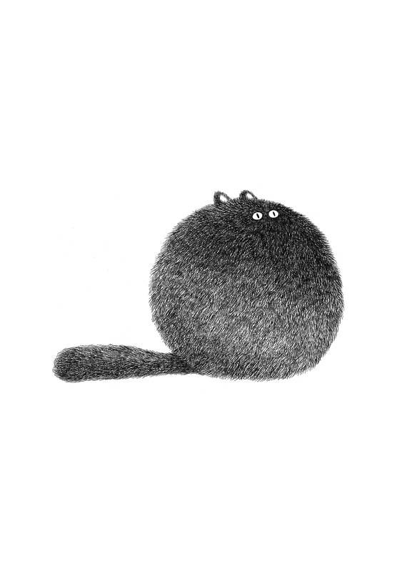 Kitty No.3 (A4) – Open Edition Print