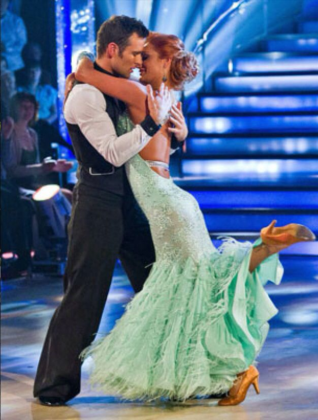 Winners of Strictly Come Dancing 2011. Harry Judd and Aliona Vilani.