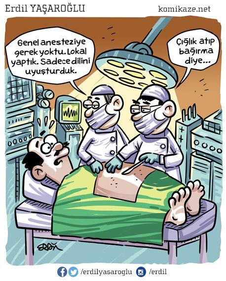 Anestezinin tümünü beyninize kullandığınız için adama lokal kalmış ... BENCE