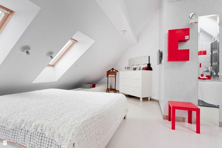 MANSARDOWE /_\ CONDO by KASIA ORWAT - zdjęcie od KASIA ORWAT home design - Sypialnia - Styl Minimalistyczny - KASIA ORWAT home design