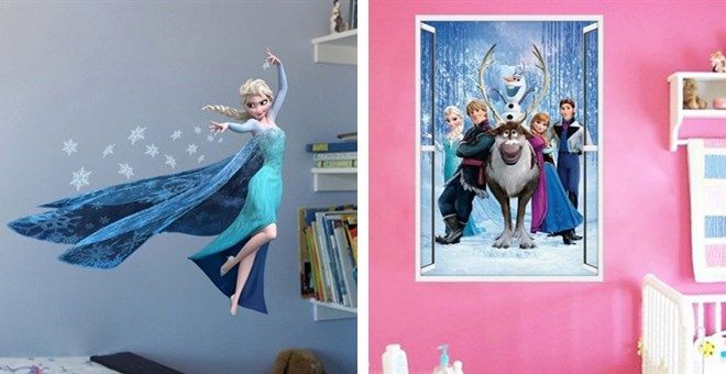 .99 Giant Frozen Wall Decals | Closet of Free Samples | Get FREE Samples by Mail | Free Stuff | closetsamples.com